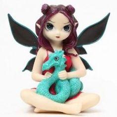 Dragon Fairy Figurine by Strangeling