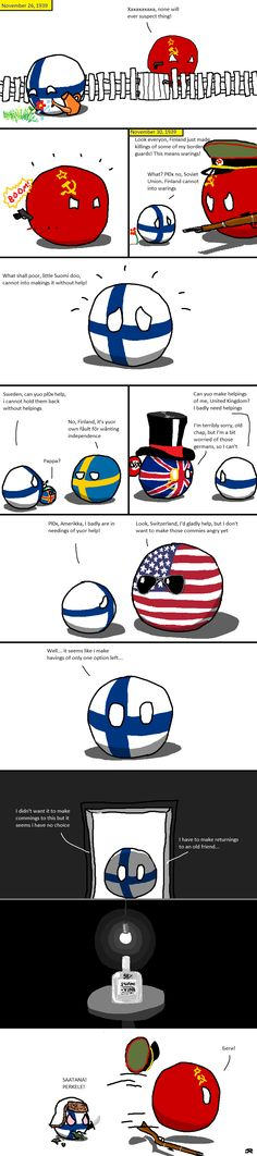 The Finnish solution ( Finland, Soviet ) by Tobinov  #polandball #countryball