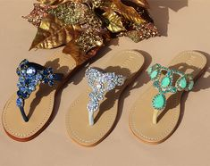 Palm Beach Sandals, Wedge Sandals, Leather Sandals, Mystique Sandals, Bridal Sandals, Jeweled Sandals, Types Of Women, Contemporary Style, Wedges