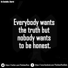 #truth #honest #ip #islamic #quote
