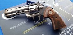 There is a lot of internet buzz about the new 2020 Colt Python having serious problems. In this video interview, we get to the bottom of it. Smith And Wesson Revolvers, Smith N Wesson, Colt Python, 357 Magnum, King Cobra, Guns And Ammo, Airsoft, Weapon, Hand Guns