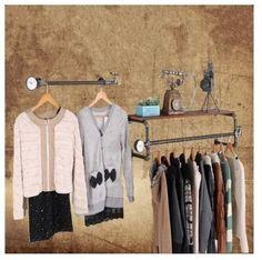 Americano para fazer o velho vintage loja loja prateleira prateleiras prateleira antigo de ferro forjado parede(China (Mainland))