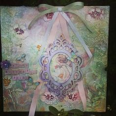 """""""Enchanted"""" Mixed Media Wall Art/Photo Frame by Cottage Chic Interiors www.cottagechicinteriors.ie"""