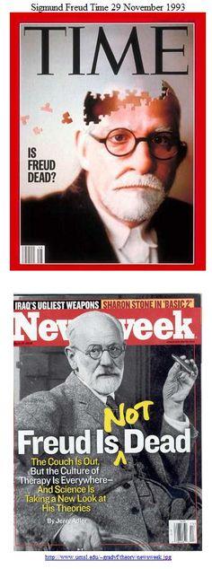 Freud, Sigmund Time, Newsweek covers