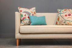 Sofá de lino + estampado Mojito scuba