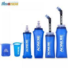 Soft Water Bottle Folding TPU Soft Flask Water bag //Price: $3.76 & FREE Shipping // #sweet #sky #travel