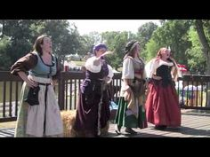 4 Pieces of 8 perform Mrs. McGraw at the 2010 New Jersey Renaissance Faire.