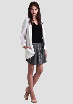 Double Exposure Polka Dot Skirt at #Ruche @shopruche