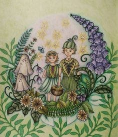 Ivy And The Inky Butterfly Colouring Book Johanna Basford