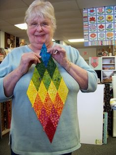 The Happy Scrappers met again Wednesday at the Attic Window Quilt Shop . Most of us continued working on the Lone Star Spiral Quilt th. Lone Star Quilt Pattern, Star Quilt Blocks, Star Quilt Patterns, Star Quilts, Scrappy Quilts, Pattern Blocks, Quilting Projects, Quilting Designs, Quilting Ideas