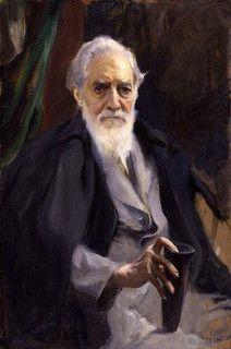 Laszlo, Philip Alexius de (1869-1937) - 1934 Flinders Petrie (National Portrait Gallery, London, UK)