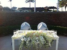 Sweet heart table!!! Wedding Planner Karla Casillas