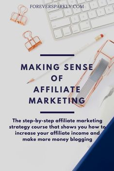 If you are searching for the best Affiliate Marketing course look no further. Learn how Michelle went from $0 to $50,000 a month with affiliate sales. Click to view and purchase Making Sense of Affiliate Marketing.