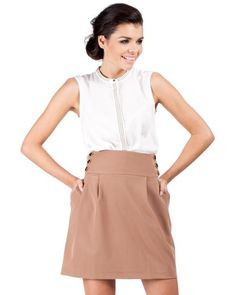 MOE A-Line Skirt Made In Europe