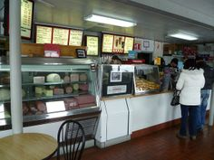 Tastee Sub Shop-Edison, NJ | Flickr - Photo Sharing!  Stacks of bread!  Menu boards are the old individual letter board.s