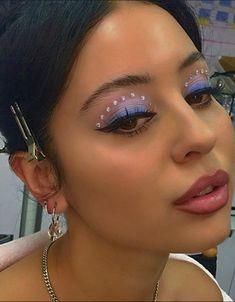 Makeup Goals, Makeup Inspo, Makeup Inspiration, Beauty Makeup, Hair Makeup, Hair Beauty, Baddie Makeup, Aesthetic Makeup, Cute Makeup