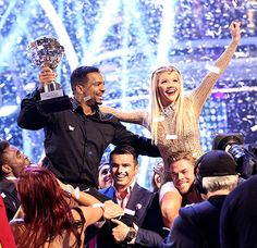 Alfonso & Witney win the Mirror ball Trophy on Dancing With the Stars
