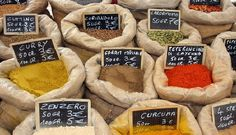 Mixed spices I A Touch of the Bazaar - A Guide to Empirical Emporiums Around the World