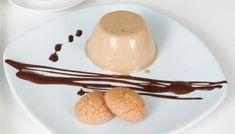 Çikolata soslu panna cotta espresso