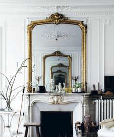 beautiful french mirrors