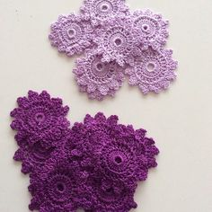 A personal favorite from my Etsy shop https://www.etsy.com/listing/270495917/crochet-flower-applique-set-of-10