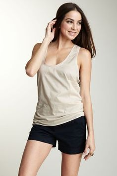 Scoop Neck Racerback Top