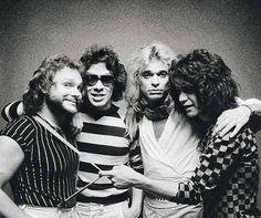 Alex Van Halen, Eddie Van Halen, David Lee Roth, Celebrities Then And Now, Greatest Rock Bands, Rockn Roll, Rock Legends, Black Sabbath, Sound Of Music