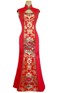 Chinese wedding dress ~ for the reception :)
