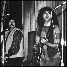 Jerry Garcia and Pigpen Mckernon.