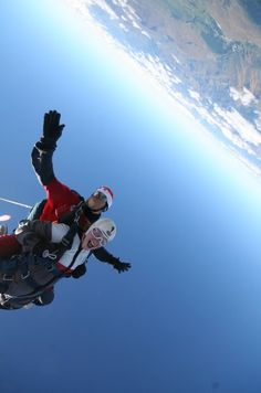 Go Sky Diving, and take a picture like this one!