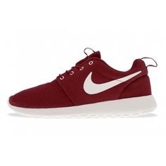best sneakers 06f48 17ad7 NIKE ROSHE RUN (TEAM RED) Sneaker Freaker ❤ liked on Polyvore featuring  shoes,