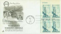 U.S. #1258 – 1964 Verrazano Bridge First Day Cover.