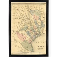 Compiled from Surveys on record in the General Land Office of the Republic, to the year 1839. This map shows rivers, mountainous and forested areas, colonies, counties, towns, routes and trails--inclu
