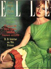 ELLE-June 1961 (Fashion Covers Magazines (First)) Tags: elle 1961 brigittebardot carven vintagefashion vintagemagazine ellemagazine 1960's 1960'sfashion