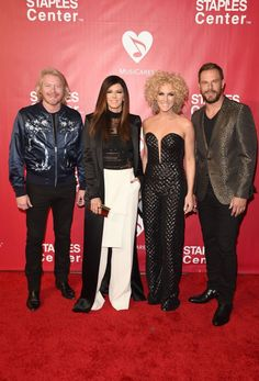 Current 58th GRAMMY nominees Little Big Town arrive at the 2016 MusiCares Person of the Year tribute ceremony in honor of Lionel Richie on Feb. 13 in Los Angeles
