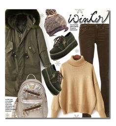 """""""Sweater Weather (casual)"""" by beebeely-look ❤ liked on Polyvore featuring rag & bone/JEAN, MCM, casual, Sweater, parka, sammydress and wintersweater"""