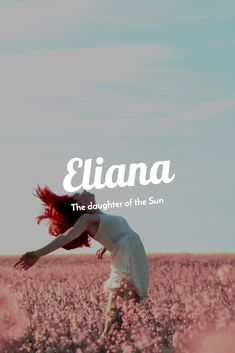 Eliana - The daughter of the Sun names unique boy names unique creative names unique girl names unique southern names unique uncommon names unique vintage Rare Baby Girl Names, Girls Names Vintage, Unisex Baby Names, Boy Names, Names Baby, Vintage Boys, Names That Mean Sun, Southern Baby Names, Country Names