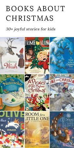 From Santa's midnight visit to joyous family gatherings, these joyful Christmas books are filled with the magic of Christmas.