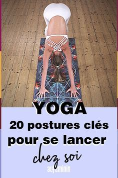 Yoga: 20 postures for all levels! - Do you want to get into yoga? Take advantage of being at home to practice these yoga postures and p - Yoga Routine, Home Exercise Routines, Yoga Meditation, Yoga Flow, Yoga Inspiration, Yoga Fitness, Fitness Diet, Gymnastics Workout, Yoga Posen