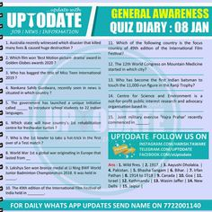 General Awareness Quiz Development Board, International Film Festival, Life