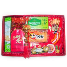 A Chinese New Year gift basket specially made for our corporate