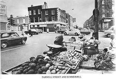 Street Seller on Parnell Street, Dublin. Old Pictures, Old Photos, Vintage Photos, Ivy Rose, Dublin City, Irish Eyes, Dublin Ireland, Book Of Life, Belfast