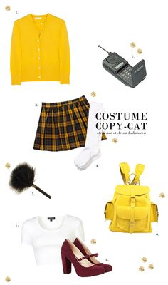 Chelsea The City: Costume Copy-Cat: Cher Horowitz Cher Clueless, Clueless Fashion, Clueless Outfits, Disney Bound Outfits, 90s Fashion, Fashion Outfits, Clueless Halloween Costume, Creepy Costumes, Halloween Outfits