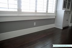 Sunny Side Up thick baseboards 6-8 inches
