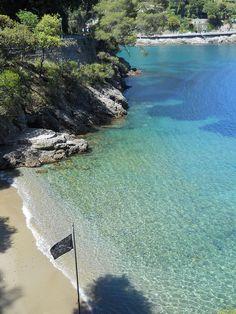 Bay of Niasca between Paraggi and Portofino, Italy