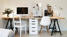 27+ DIY Computer Desk Ideas You Can Build Now in 2019 Stunning diy computer desk inspiration. #diycomputerdeskinspiration