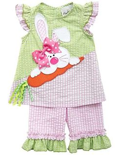 Rare Editions Pink Seersucker Easter Bunny Rabbit 2pc Ruffle Capri Set 18M Rare Editions http://www.amazon.com/dp/B00UMG07XW/ref=cm_sw_r_pi_dp_Rsd5wb1NKPTHF