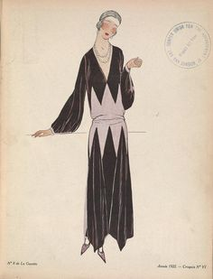 Gazette du bon ton : arts, modes & frivolités