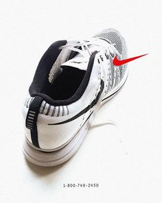 buy popular c9871 eb5b1 Modern Nike Shoes Reimagined in Vintage Ads  See the Flyknit Trainer in a  classic phone number ad.