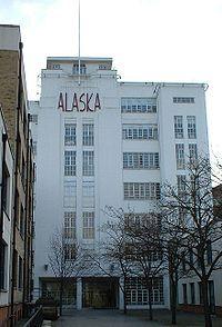 'Alaska' factory, Bermondsey, London